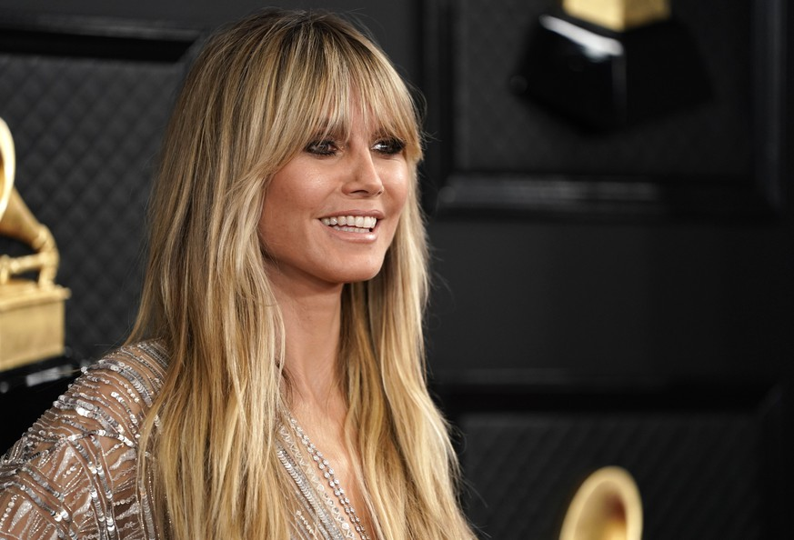 62nd Grammy Awards - Arrivals - Los Angeles, California, U.S., January 26, 2020 - Heidi Klum. REUTERS/Mike Blake