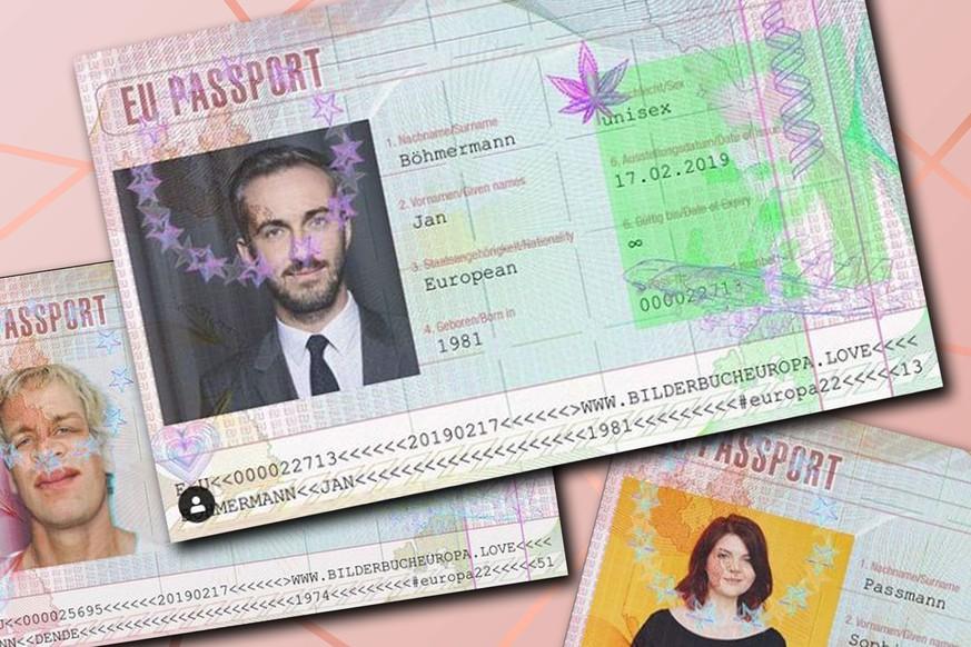 EU-Passport - Das steckt hinter den Europa-Pässen
