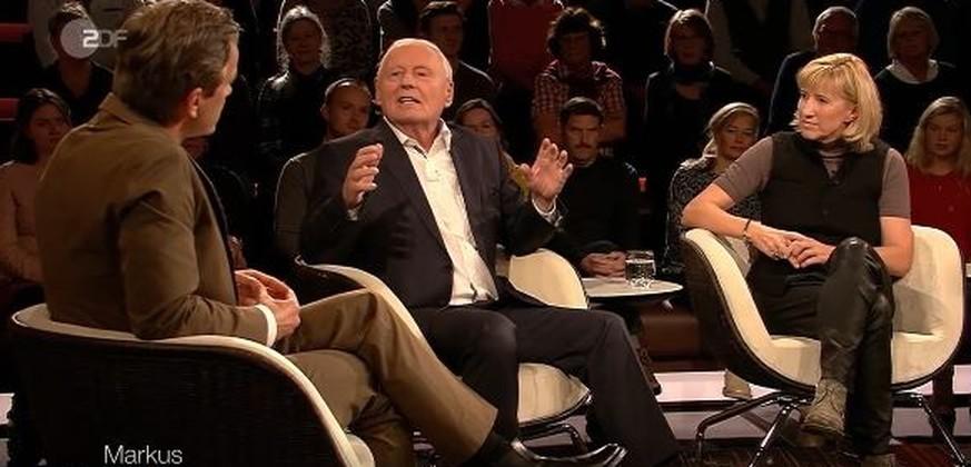Lanz und Lafontaine streiten über Merkels DDR-Biografie – dann wird Moderator deutlich