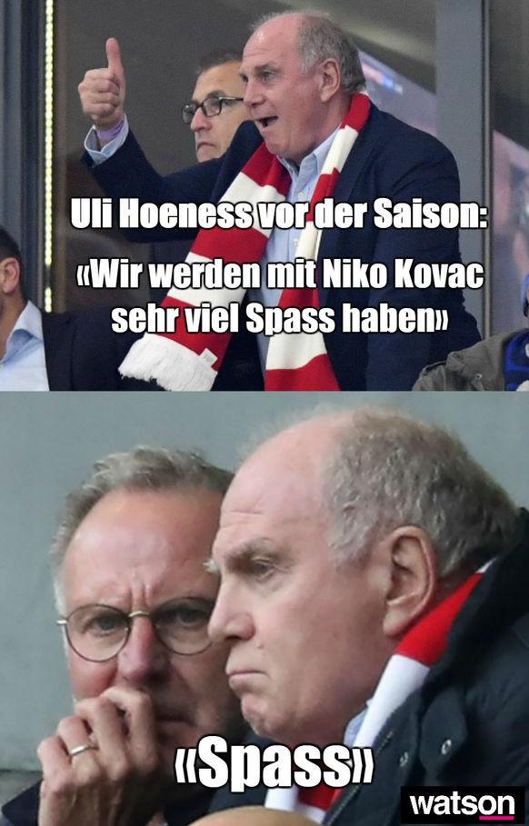 11 Memes Zu Uli Hoeneß Niko Kovac Und Der Krise Beim Fc Bayern