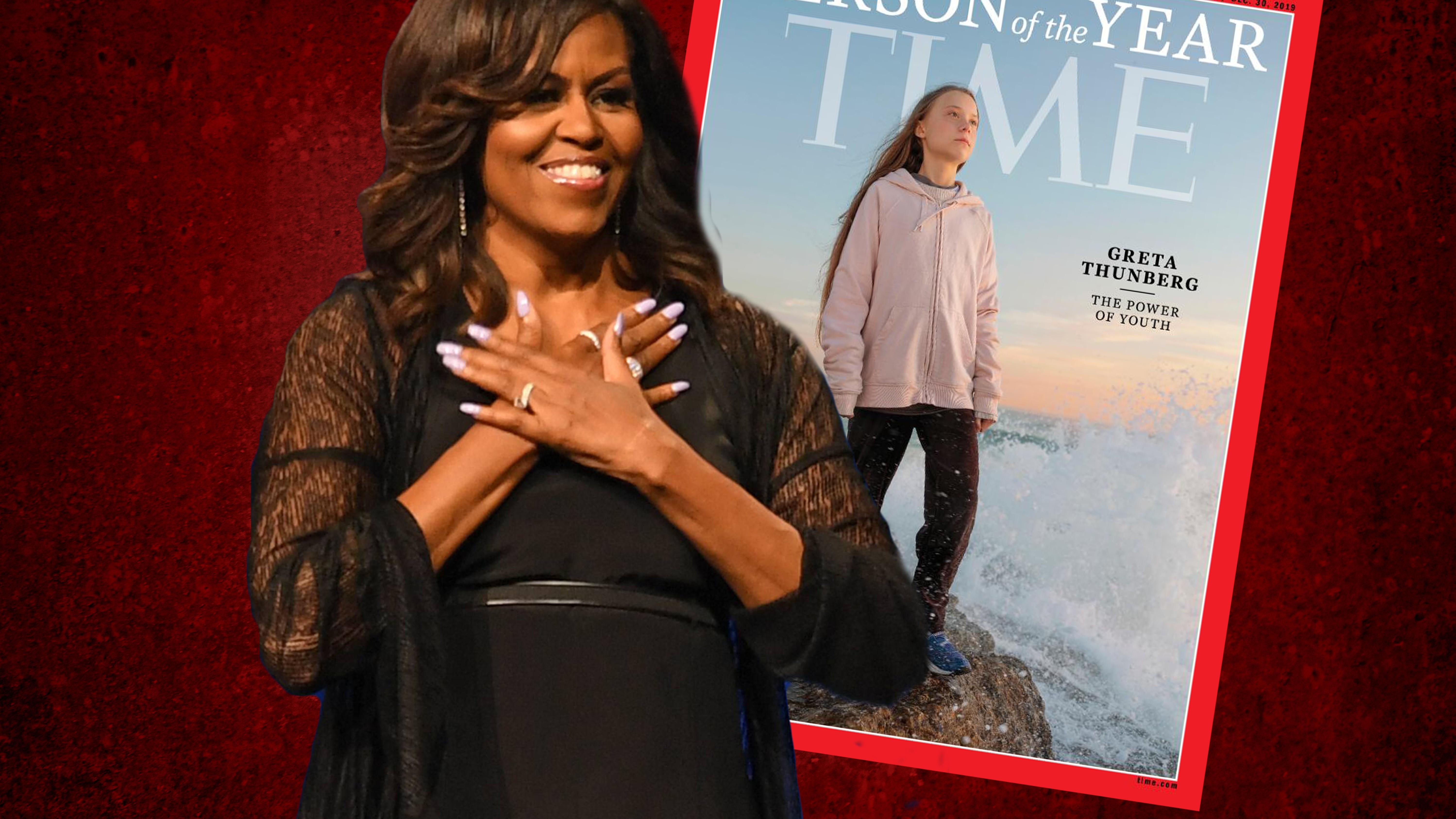Nach Trump-Triade: Michelle Obama springt Greta Thunberg bei