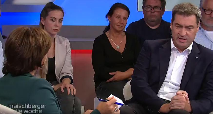 """""""Nein, Moment"""": Bei Söders Antwort auf Maaßen-Frage staunt Maischberger nicht schlecht"""