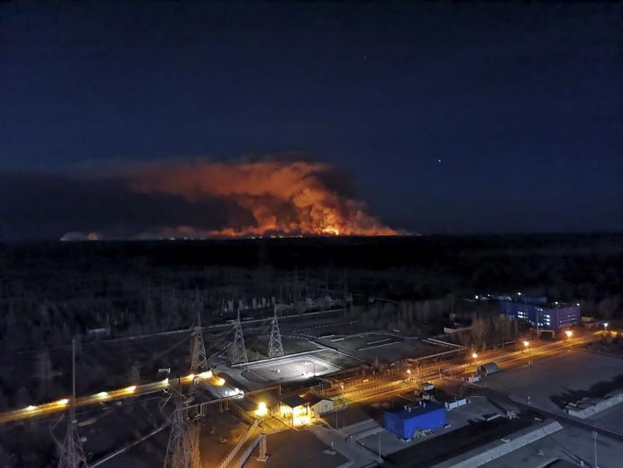 Tschernobyl Brennt