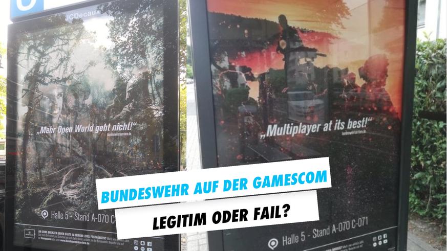 Bundeswehr Werbung Gamescom