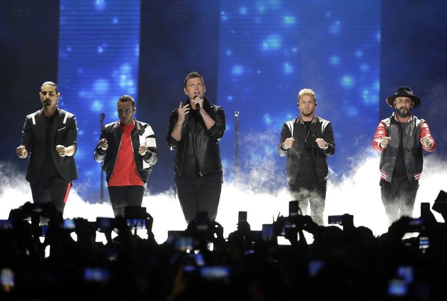 Mehrere Verletzte vor Konzert von Backstreet Boys in den USA