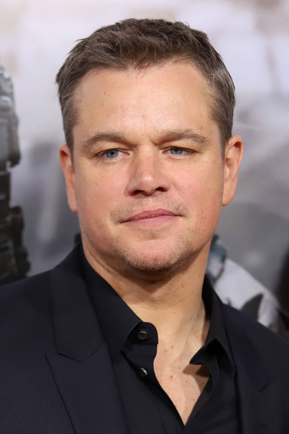 12 Strong Premiere - New York Matt Damon attends the premiere of 12 Strong at Jazz at Lincoln Center s Frederick P. Rose Hall in New York PUBLICATIONxINxGERxSUIxAUTxONLY Copyright: xPBGx 34496955