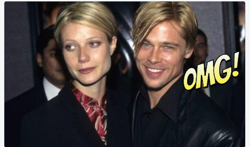 Brad Pitt Hat Immer Die Gleiche Frisur Wie Seine Partnerinnen Watson