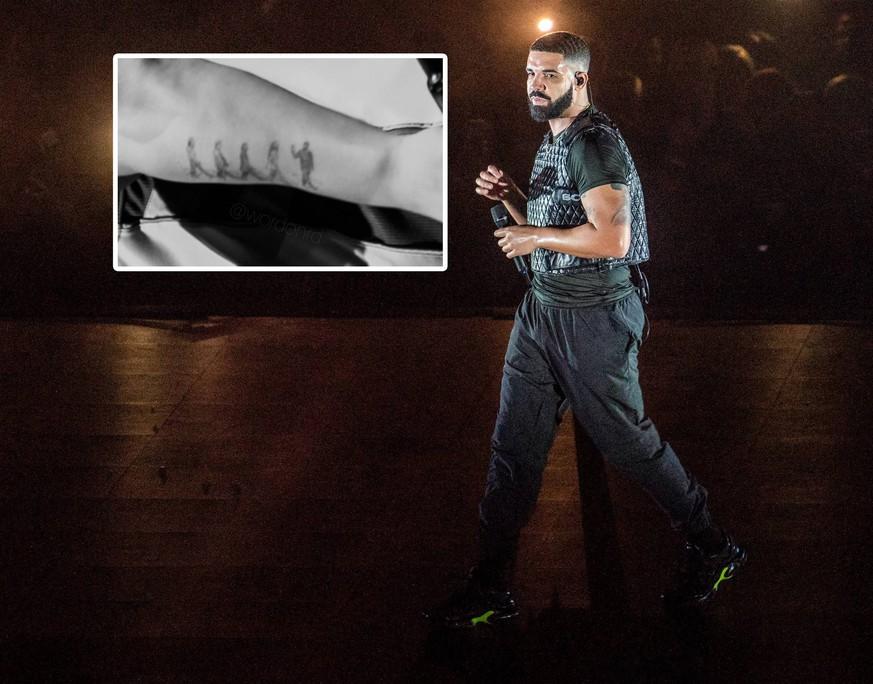 Drake lässt sich (respektloses?) Tattoo stechen – Beatles-Fans sind sauer