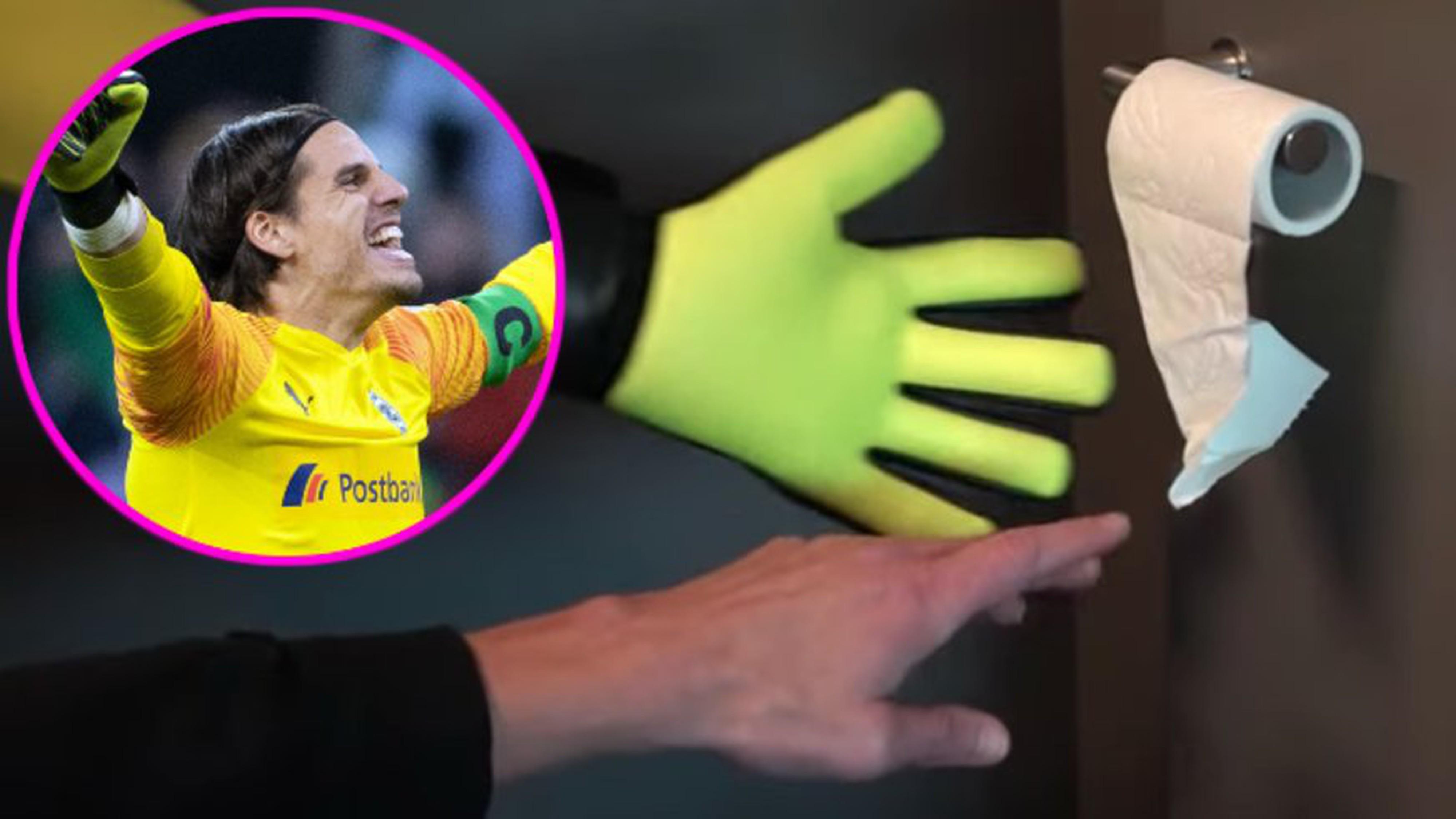 Yann Sommer ist immer da, wenn dein Arm eine Fingerspitze zu kurz ist