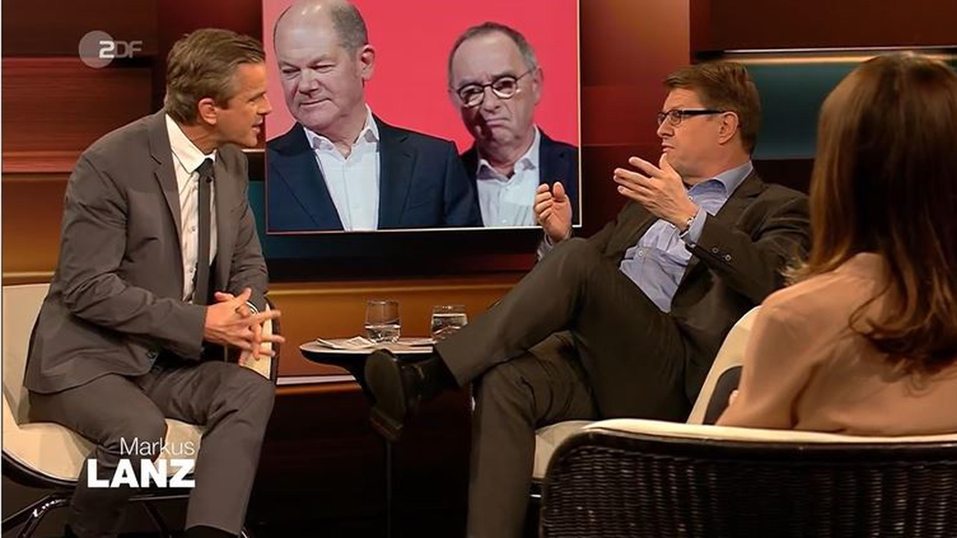 """Markus Lanz grillt SPD-Mann Ralf Stegner: """"Sehe ich aus wie ein Opfer?"""""""