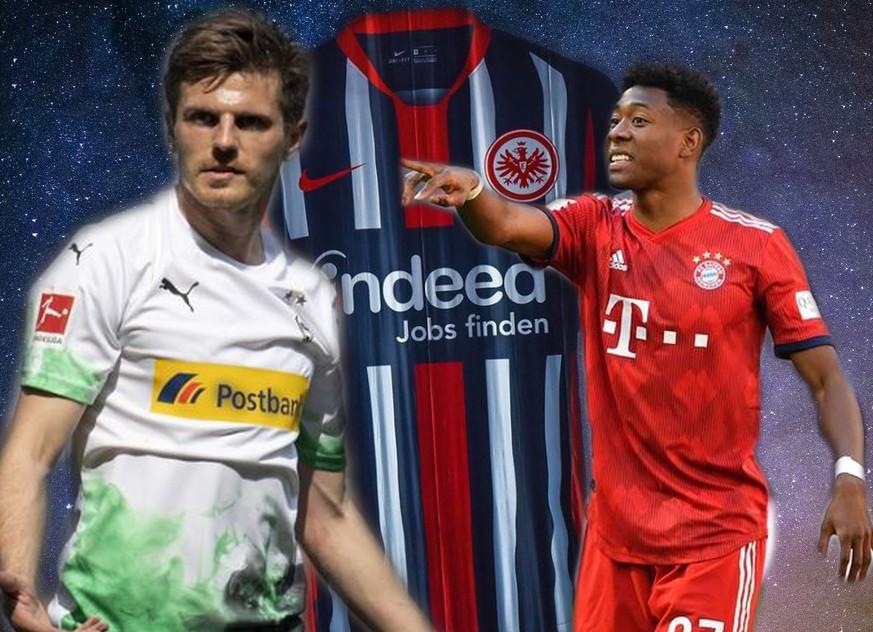 Eintracht hip, Gladbach raucht: Die neuen Trikots der Bundesliga im Ranking
