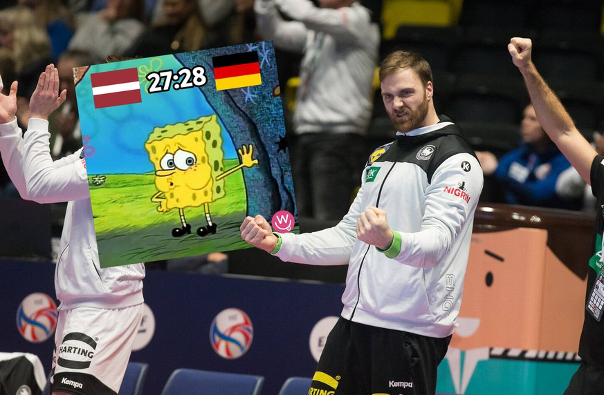 WOLFF Andreas Allemagne - Germany HANDBALL : Championnat d Europe 2020 : Lettonie vs Allemagne - 13/01/2020 THEOPHILELaurent/Panoramic PUBLICATIONxNOTxINxFRAxITAxBEL