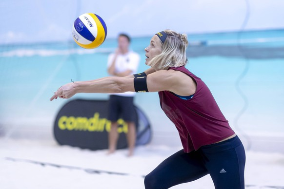 Laura Ludwig. Media Day Beach-Volleyball Nationalteams Deutschland, 28.03.19 Hamburg Schleswig-Holstein Germany Beach Center *** Laura Ludwig Media Day Beach Volleyball National Teams Germany 28 03 19 Hamburg Schleswig Holstein Germany Beach Center Copyright: xAgentur54Gradx/xJohnxGarvex