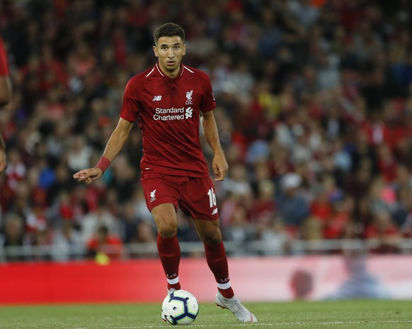 7th August 2018, Anfield, Liverpool, England; Pre Season football friendly, Liverpool versus Torino; Marko Grujic of Liverpool PUBLICATIONxINxGERxSUIxAUTxHUNxSWExNORxDENxFINxONLY ActionPlus12053923 AlanxMartin