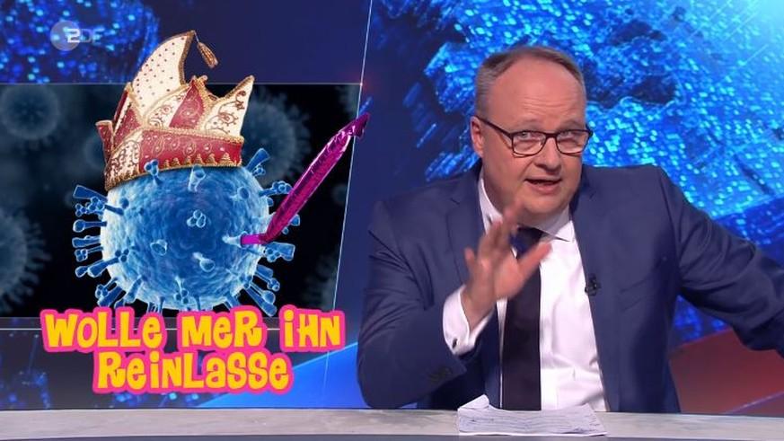"""Oliver Welke zieht in """"Heute-Show"""" mies über Corona-Vorsorge her"""