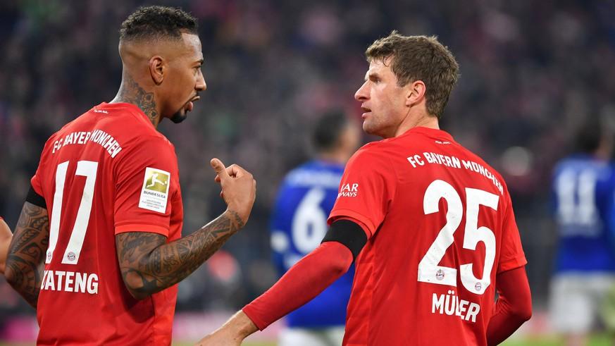 Bayern-Star Thomas Müller witzelt über Manuel Neuer – Jerome Boatengs Konter sitzt