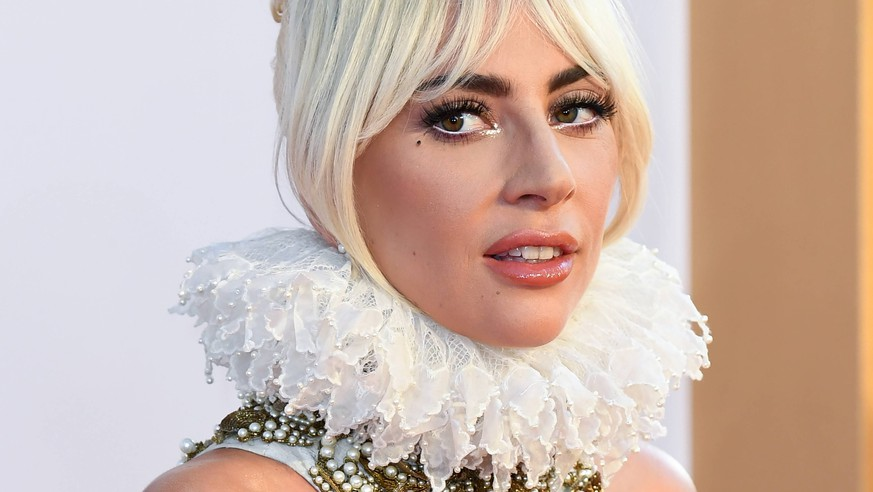 A Star is Born UK Premiere - London Lady Gaga attending the UK Premiere of A Star is Born held at the Vue West End, Leicester Square, London PUBLICATIONxINxGERxSUIxAUTxONLY Copyright: xDougxPetersx 38804968