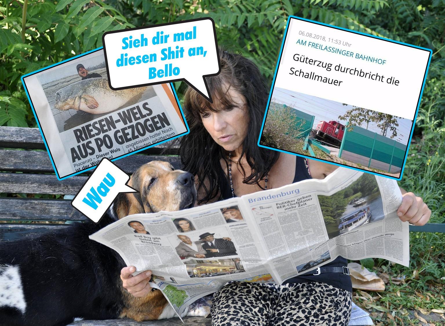 Große lustige Dating-Schlagzeilen