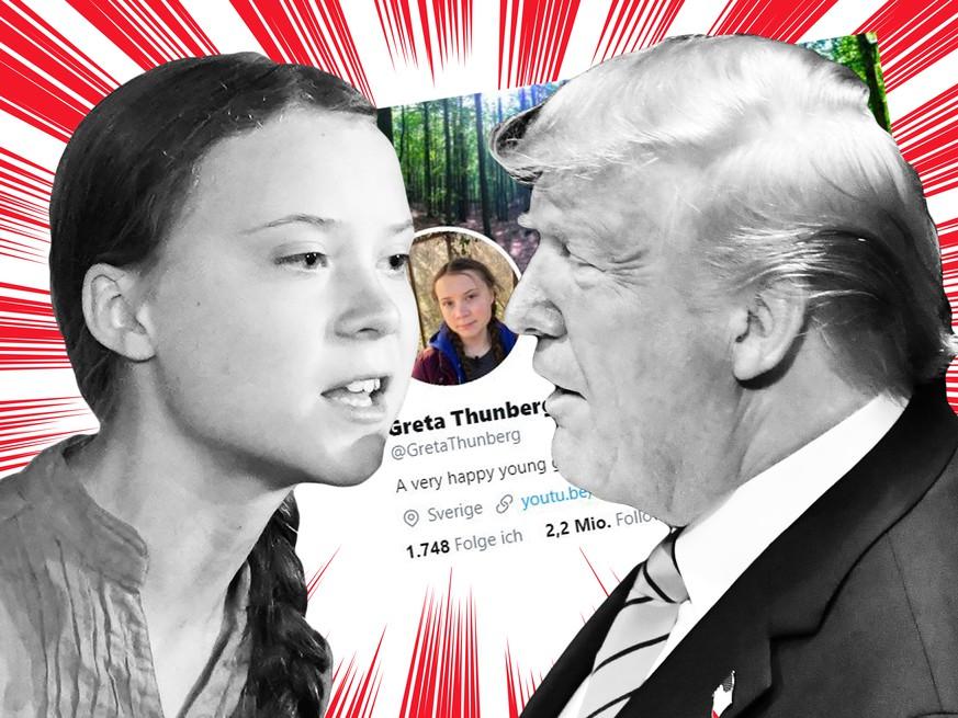 Greta Thunberg: So cool reagiert sie auf den Spott von Donald ...