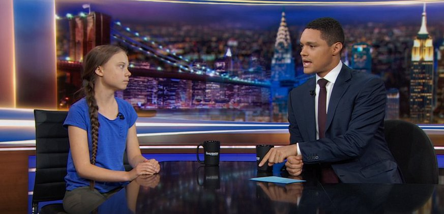 """""""Informiert euch!"""": Greta Thunberg liest den Amerikanern in US-Show die Leviten"""