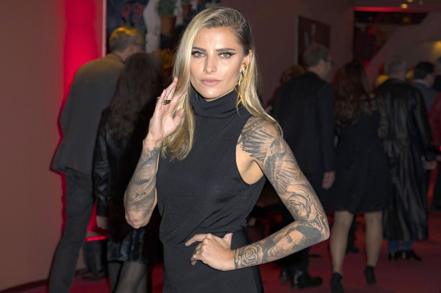 Sophia Thomalla bei der Deutschlandpremiere von Bat Out Of Hell - Das Musical im Stage Metronom Theater am CentrO. Oberhausen, 08.11.2018 *** Sophia Thomalla at the German premiere of Bat Out Of Hell The musical at the Stage Metronom Theater am CentrO Oberhausen 08 11 2018 Foto:xA.xHavergox/xFuturexImage