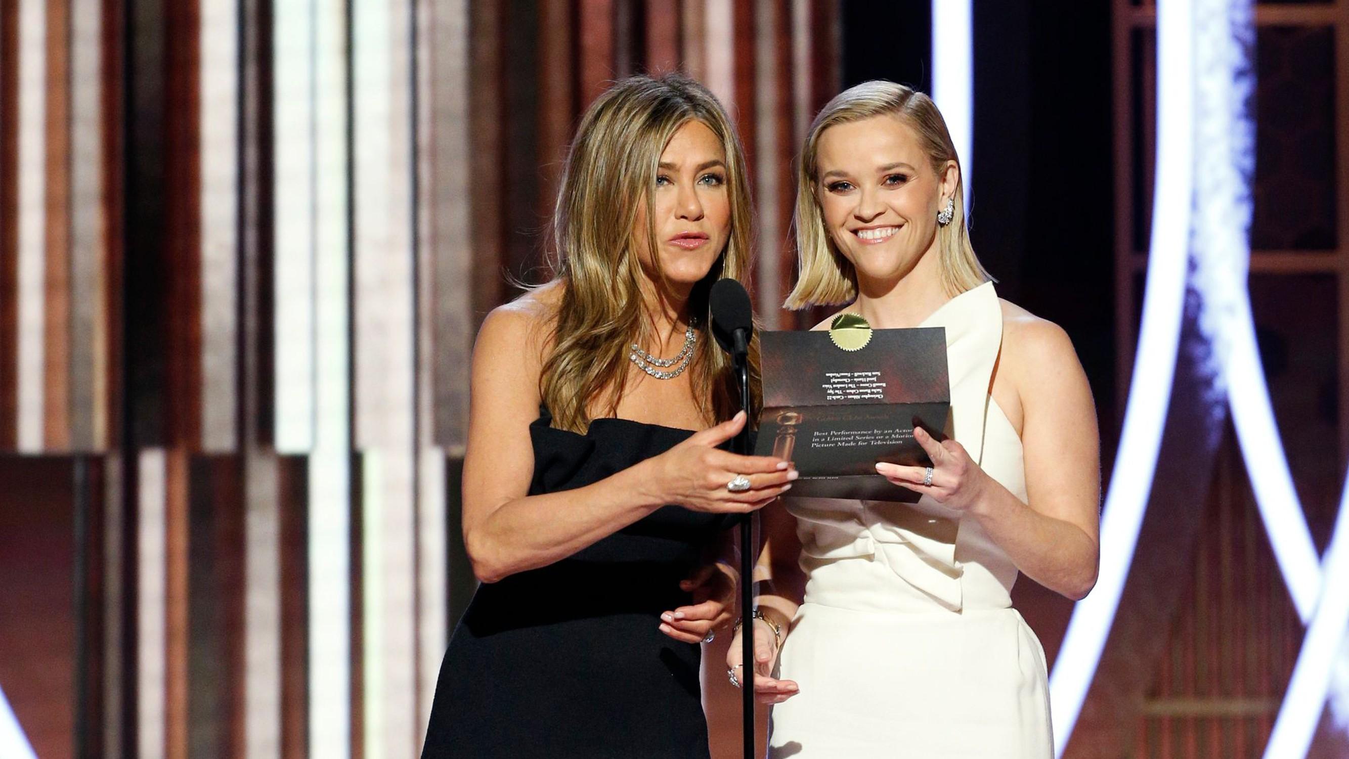 Russel Crowe verweigert Golden-Globes-Rede und schickt Jennifer Aniston vor