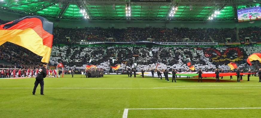 DFB-Choreo erinnert manche Zuschauer an einen 30 Jahre alten Skandal