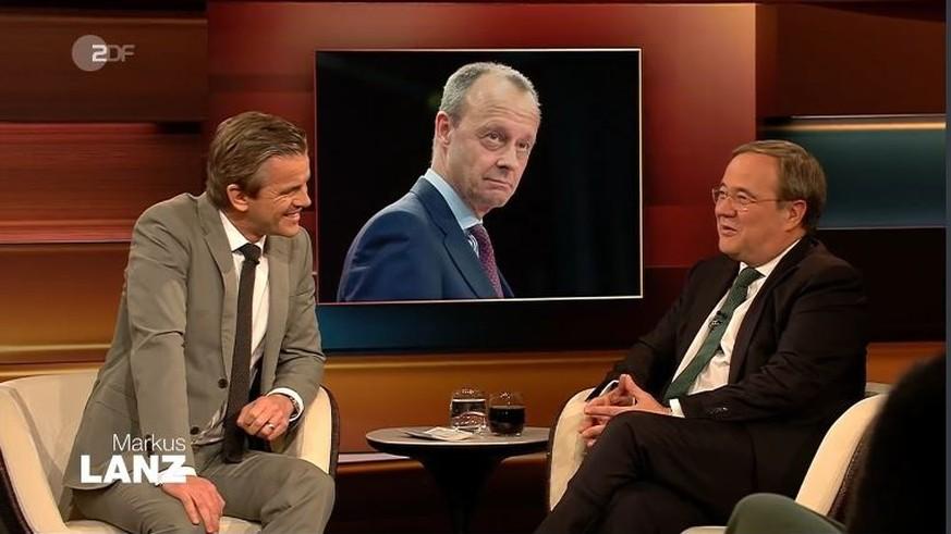 Lanz stellt Laschet süffisante Kanzler-Frage: Der CDU-Politiker antwortet cool