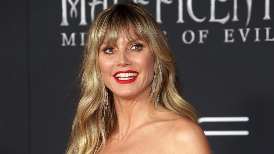 LOS ANGELES, CA - SEPTEMBER 30: Heidi Klum, at the Maleficent: Mistress Of Evil premiere at El Capitan Theater in Los Angeles, California on September 30, 2019 in Los Angeles, California. Credit Faye Sadou/MediaPunch PUBLICATIONxINxGERxSUIxAUTxONLY Copyright: xFayexSadoux