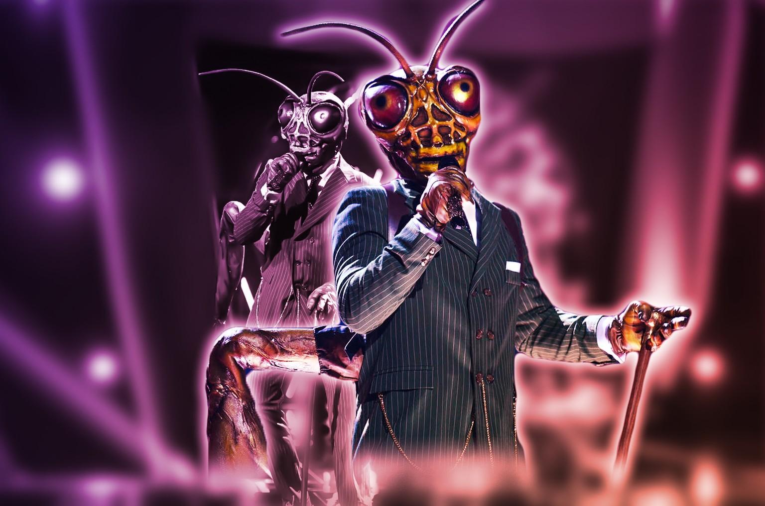 The mask singer grashüpfer