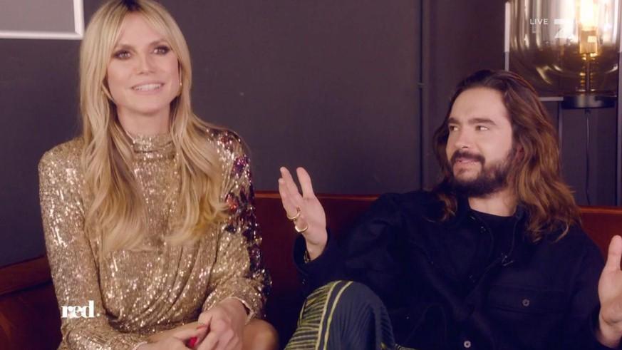 Peinliche Sex-Anspielung: Heidi Klum bringt Ehemann Tom Kaulitz in Verlegenheit - watson