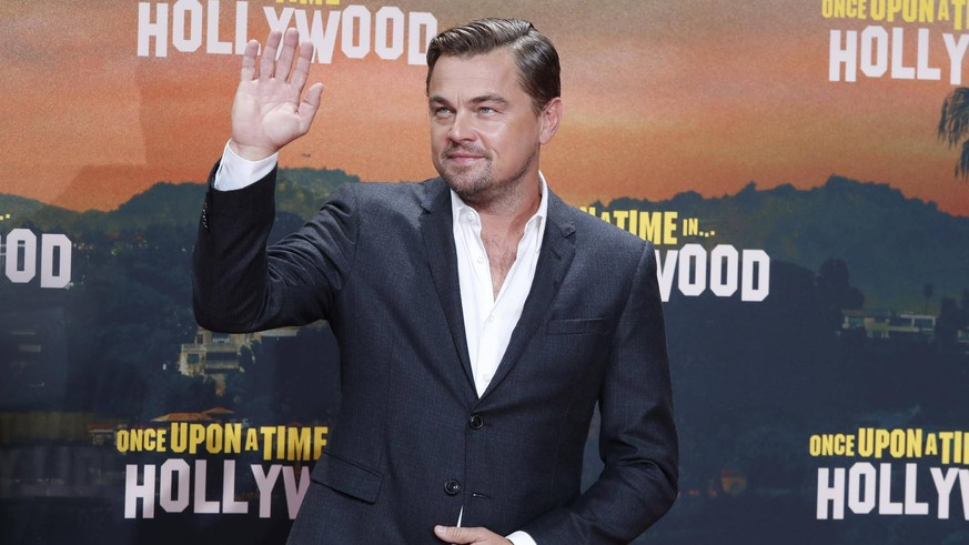Leonardo DiCaprio bei Filmpremiere Once upon in Hollywood im Sony Center, Berlin. *** Leonardo DiCaprio at film premiere Once upon in Hollywood at Sony Center, Berlin