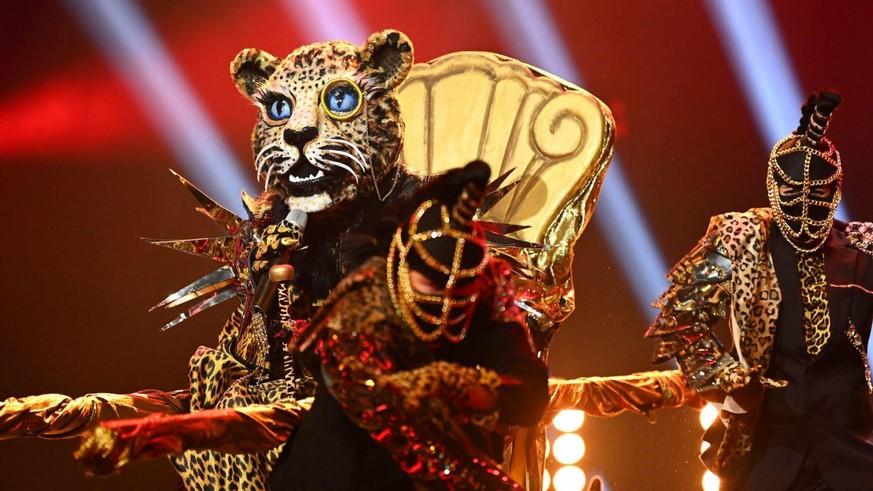 """""""The Masked Singer"""": Diese Besonderheit des Leoparden könnte ein Geheimnis verraten"""