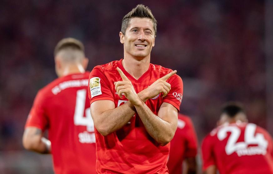 """Nur 5 Bayern-Tore, aber 6 Scorer-Punkte: Lewandowski führt """"unmögliche"""" Statistik"""