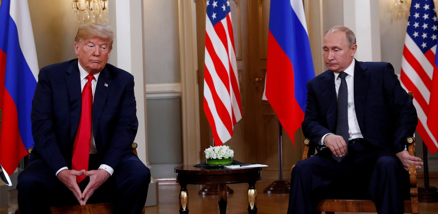 U.S. President Donald Trump meets with Russian President Vladimir Putin in Helsinki, Finland, July 16, 2018. Reuters photographer Kevin Lamarque: