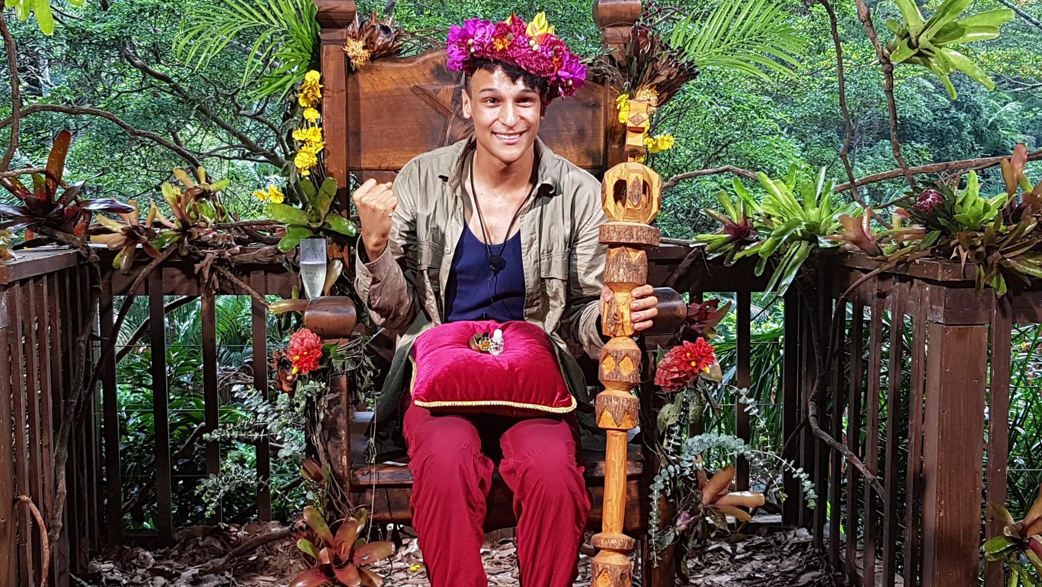 RTL-Dauergewinner: Das ist Dschungelkönig Prince Damien