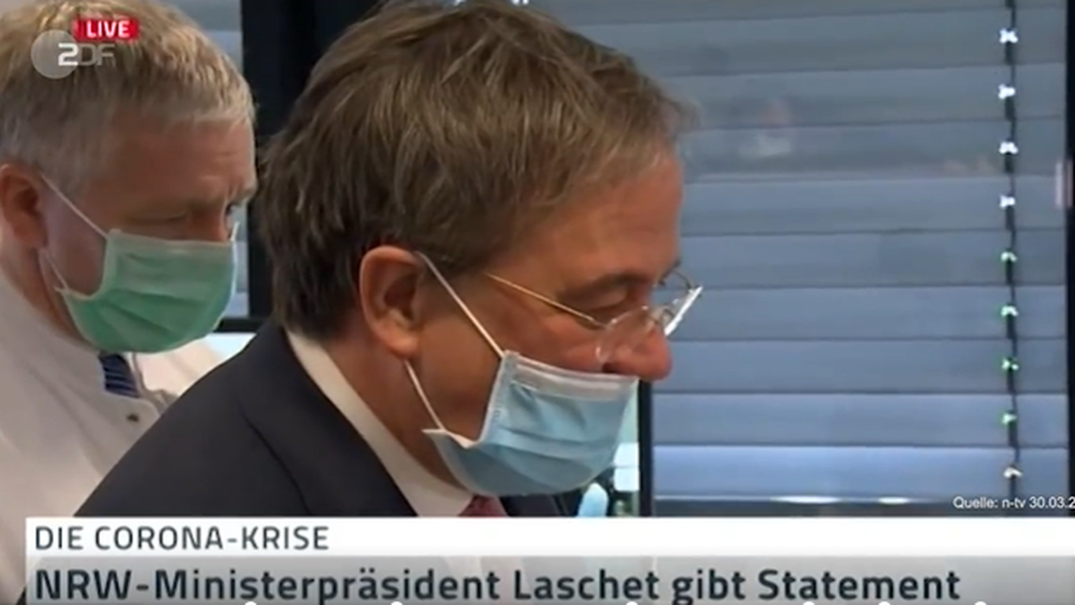 Laschet Maske