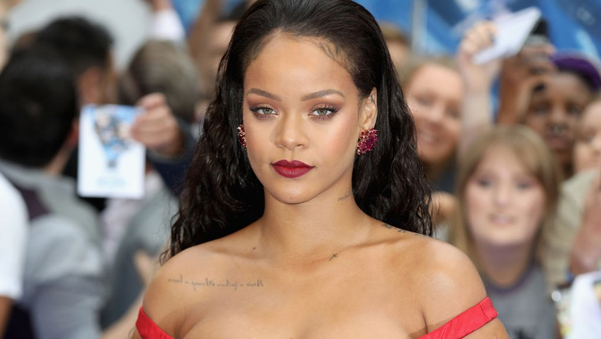 LONDON, ENGLAND - JULY 24:  Rihanna attends the