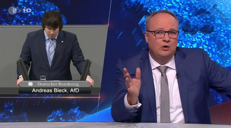 """""""Heute-Show"""" entlarvt AfD-Plastikmüll-These – dann führt Welke eigene Branche vor"""