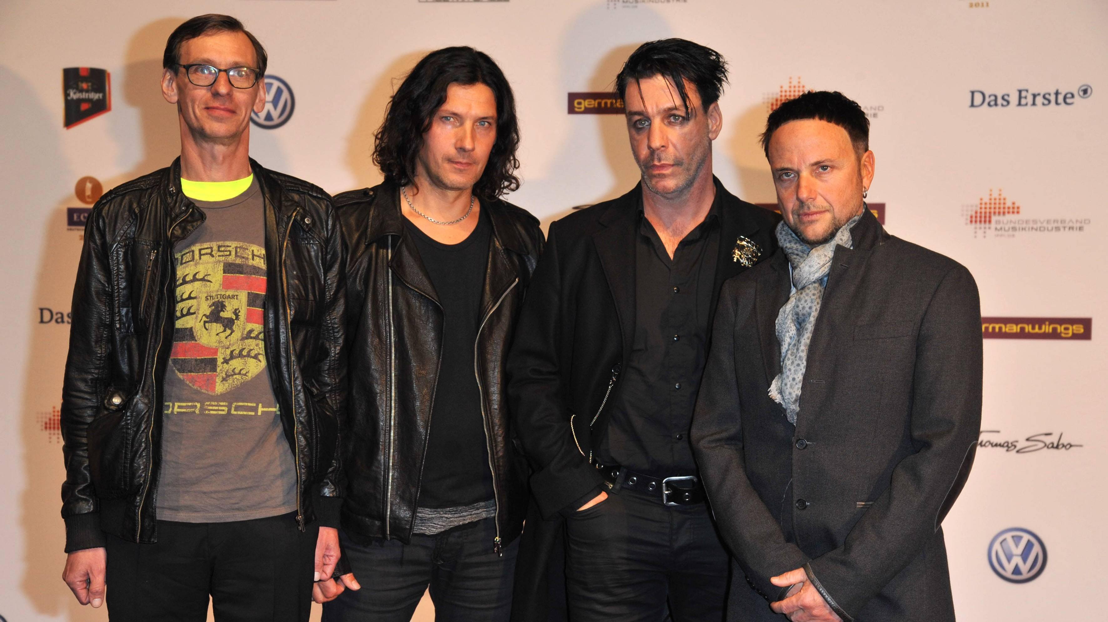"""Rammstein-Mitglied wütet in Interview: Wiedervereinigung war """"eine Sauerei"""""""