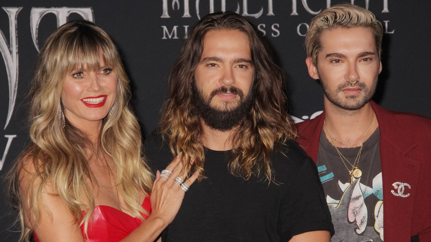 Heidi Klum, Tom Kaulitz, Bill Kaulitz 09/30/2019 The World Premiere of Maleficent: Mistress of Evil held at the El CapitanTheatre in Los Angeles, CA. PUBLICATIONxINxGERxSUIxAUTxONLY Copyright: xI.xHasegawax 33881-230HNW