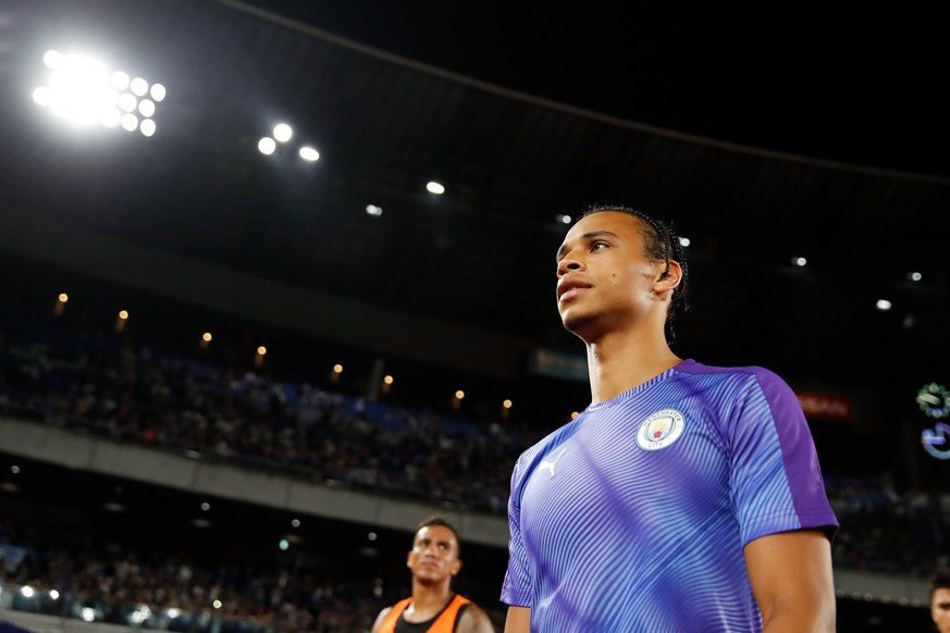 Leroy Sane (Manchester City), JULY 27, 2019 - Football / Soccer : EUROJAPAN CUP 2019 match between Yokohama F Marinos 1-3 Manchester City FC at Nissan Stadium in Kanagawa, Japan. PUBLICATIONxINxGERxSUIxAUTxHUNxONLY (108697241)