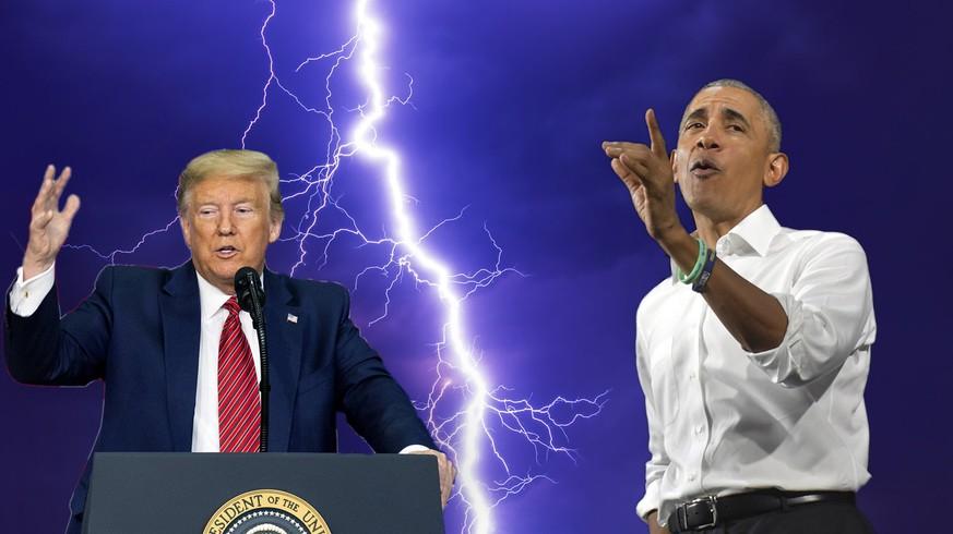 Obama twittert, Trump rastet aus – dann offenbart sich, wie gespalten die USA sind