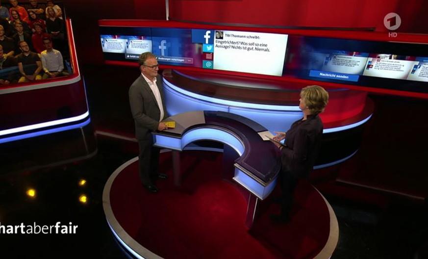 """Plasberg will Antisemitismus in """"Hart aber Fair"""" diskutieren – ARD-Team versagt doppelt"""