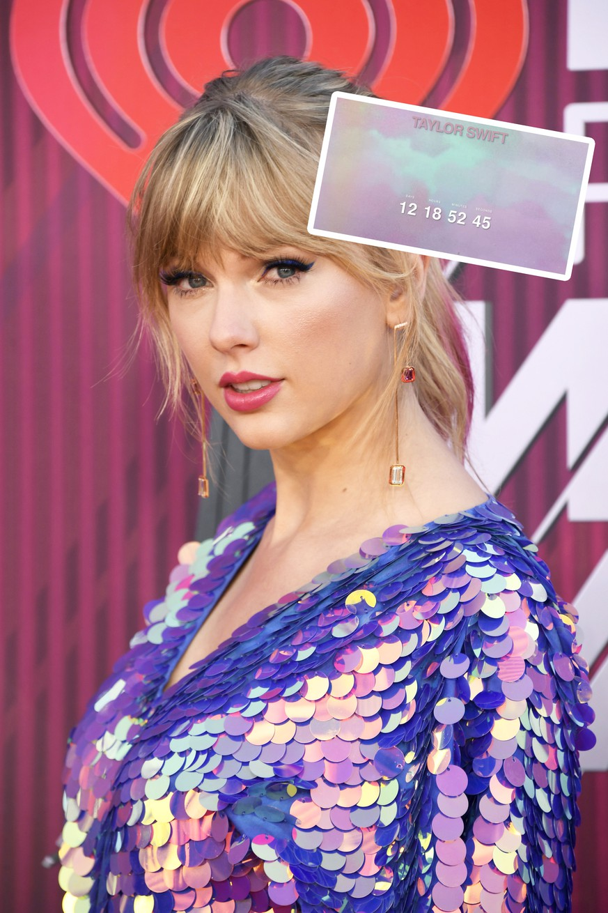 LOS ANGELES, CALIFORNIA - MARCH 14: Taylor Swift attends the 2019 iHeartRadio Music Awards which broadcasted live on FOX at Microsoft Theater on March 14, 2019 in Los Angeles, California. (Photo by Frazer Harrison/Getty Images)