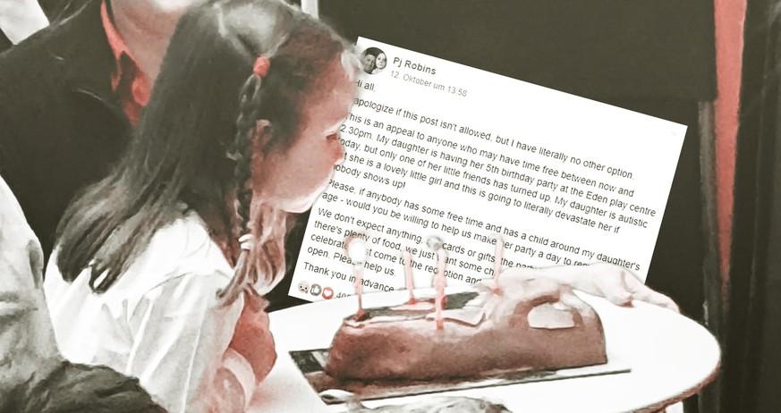 """""""Helft uns"""": Als niemand zum Kindergeburtstag kommt, schreibt Vater auf Facebook"""