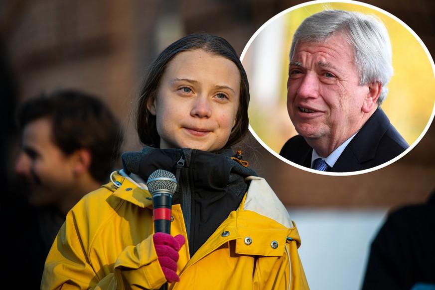 Klima - Bouffier fordert von Greta Thunberg mehr Respekt