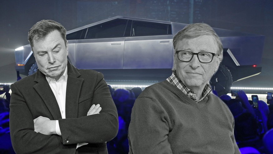 Bill Gates kauft Elektroauto – Tesla-Chef Elon Musk ist genervt und reagiert