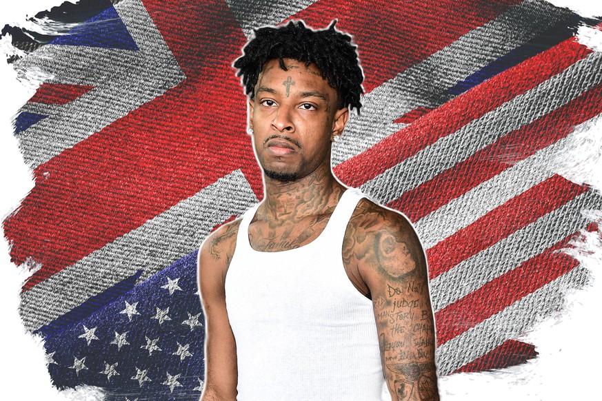 USA - Einwanderungsbehörde verhaftet Rapper 21 Savage
