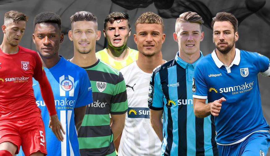 the best attitude edf90 7230d 3. Liga: Heute startet die die Saison – 7 Clubs haben selben ...